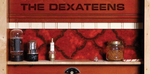 Dexateens - Red Dust Rising - CD Inner Booklet (2005) by Jason Willis