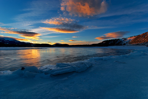 morning winter clouds sunrise yukon february whitehorse yukonriver greymountain riverice 3exposures
