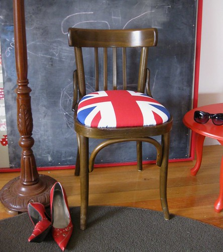 British Flag chair