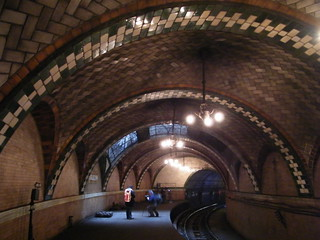 Historic City Hall Subway Station (1904) New York, Abandoned 1945