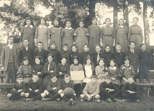 Ohoka School July 1st 1915