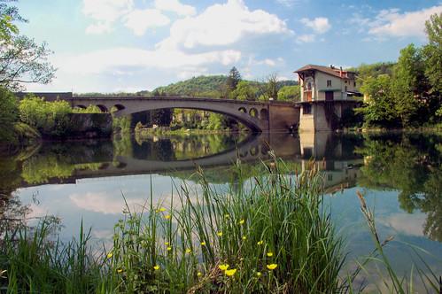 Le pont de Thoirette