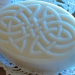 Celtic knot soap