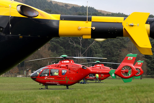 Anybody for an EC135... or three?