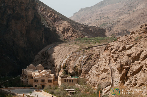 Ma'in Hot Springs in Jordan