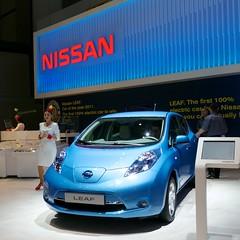 automobile, vehicle, nissan leaf, automotive design, compact sport utility vehicle, auto show, city car, nissan, land vehicle, electric vehicle, hatchback,
