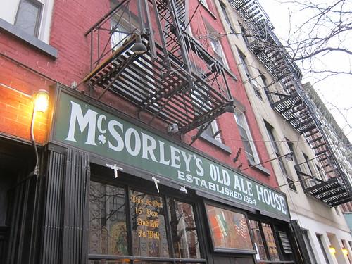 McSorley's. NYC