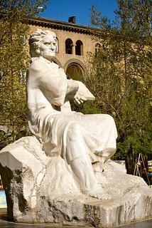 Image of Martiros Saryan monument. monument statue caucasus armenia statuary yerevan հայաստան երեան saryan martirossaryan osm:node=614350860