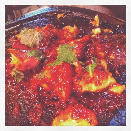 激辛韓国料理なう