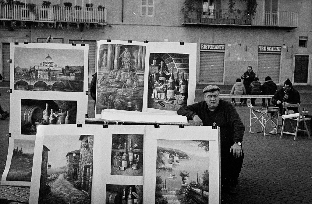 "Image titled ""Selling Paintings, Rome."""