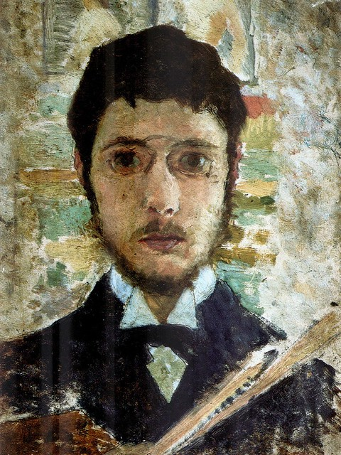 [ B ] Pierre Bonnard - Self-Portrait (1889)
