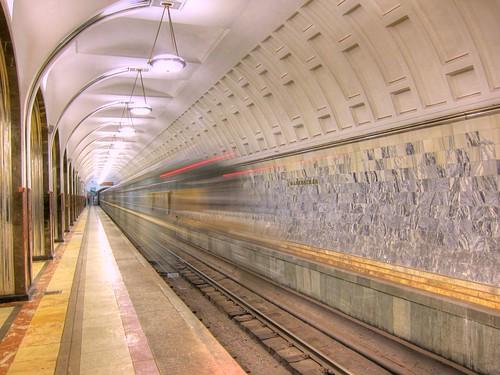 Moscow Metro - Take 5: Mayakovskaya