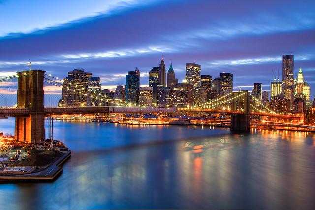 Lower Manhattan From the Manhattan Bridge