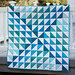 Monochromatic quilt for Project Modern Challenge by MyFabricObsession