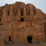 Tombs and Temples at Petra, Jordan