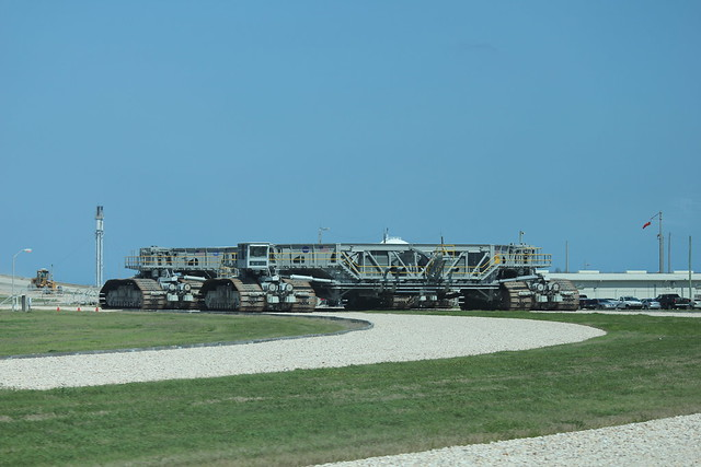NASA Crawler Transporter Roadway - Pics about space