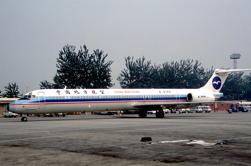 China Northern Airlines MD-82; B-2148, October 1998/ BSK