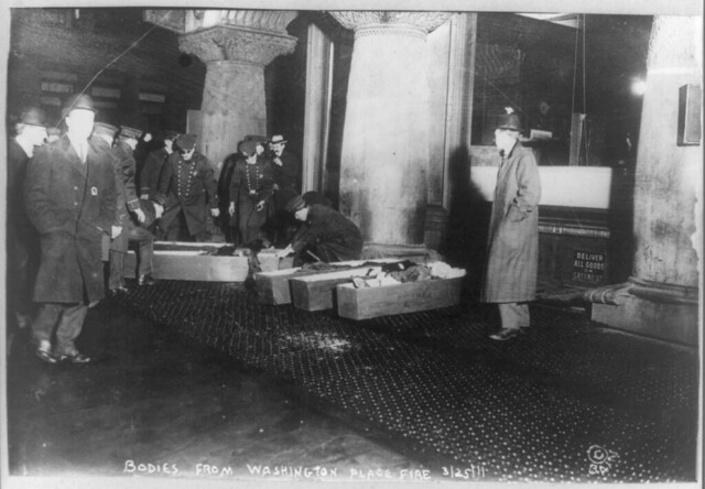 Bodies from Triangle Shirtwaist fire from Flickr via Wylio
