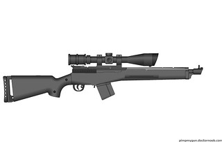 American Counter Sniper Rifle