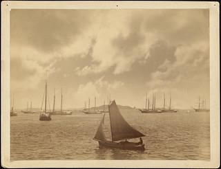 Lewis's instantaneous marine studies. No. 347, Boston Harbor, Mass.
