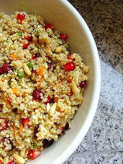 Pomegranate + Quinoa Salad