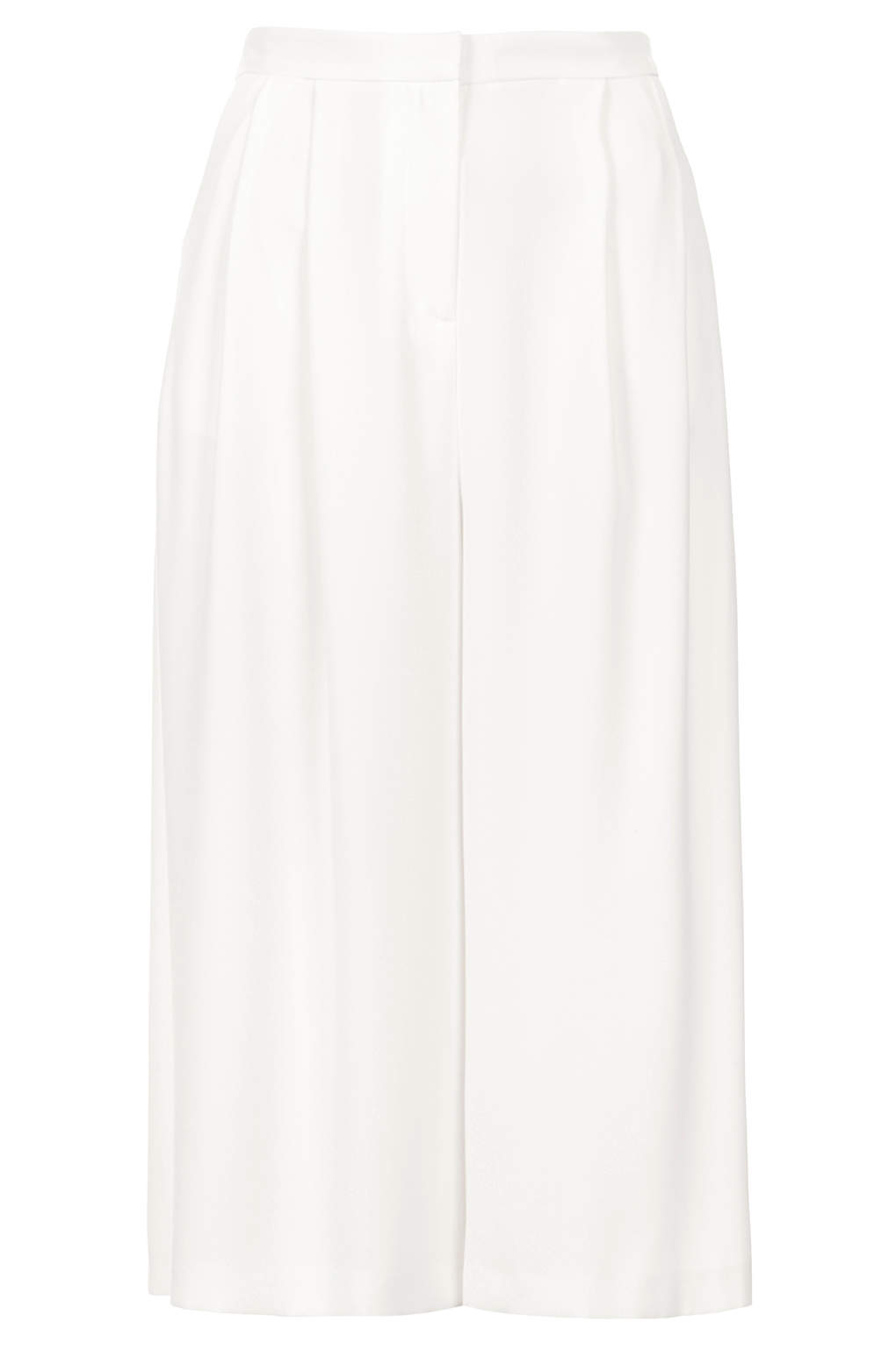 topshop white culottes