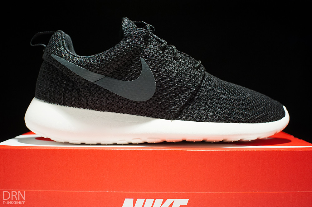 Black Roshe Runs.