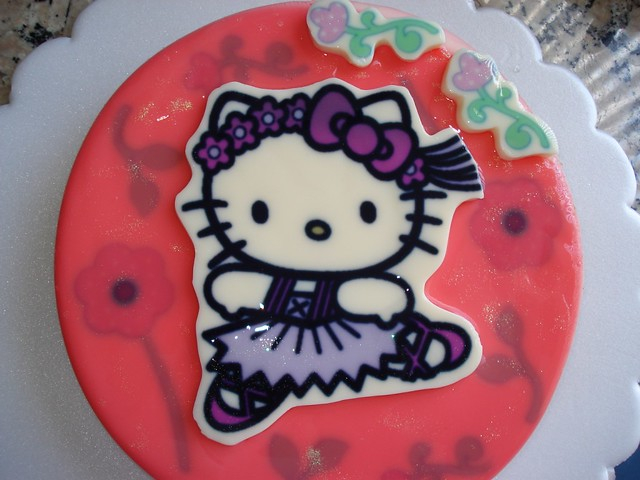 Gelatina Hello Kitty bailarina | Flickr - Photo Sharing!
