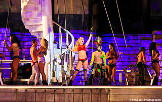 The Sirens Of TI Nightly Performance @ Treasure Island, Las Vegas
