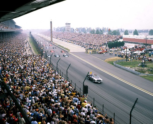 speedread the indianapolis motor speedway blog the 1977 indianapolis 500 parade lap. Black Bedroom Furniture Sets. Home Design Ideas