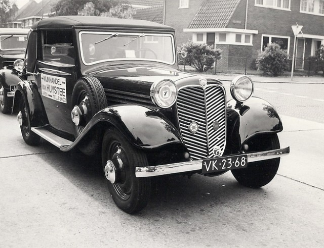 Stoewer Front R 140 Cabriolet 1934