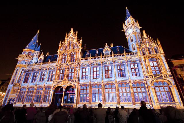 Licht festival Gent (Light festival Ghent)