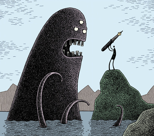 PMU-2011-Tom Gauld, Untitled (cover for a book), 2009