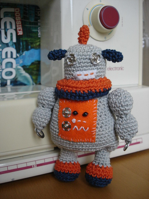 Amigurumi Robot Crochet Patterns : amigurumi robot Flickr - Photo Sharing!