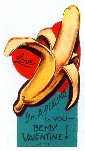 Vintage Valentine: Suggestive Banana