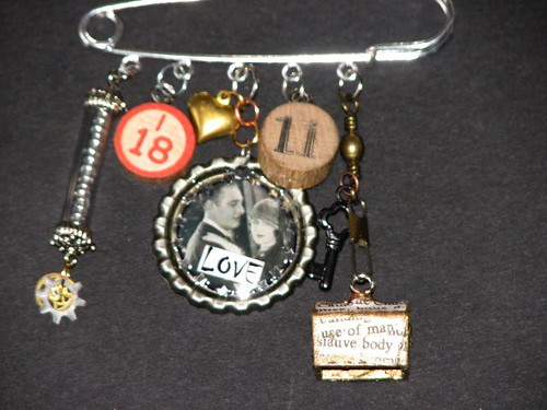 Altered Charm Pin 005