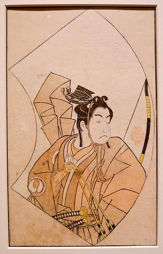 Katsukawa Shunsho - Actor Sawamura Tanosuke - 1770 - Tacoma Art Museum