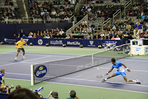 Exhibition Match - SAP Open 2011