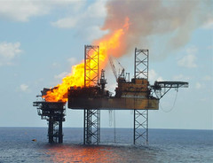 vehicle, gas flare, petroleum, jackup rig, offshore drilling, oil field, oil rig,