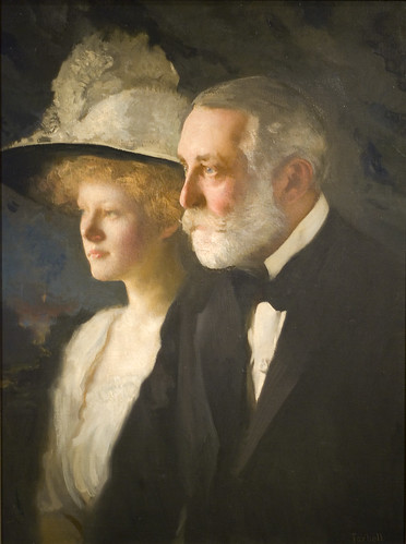 Henry Clay Frick (1849–1919) with his daughter, Helen Clay Frick (1888–1984)