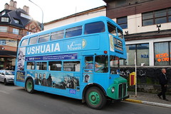 Bus in Ushuaia