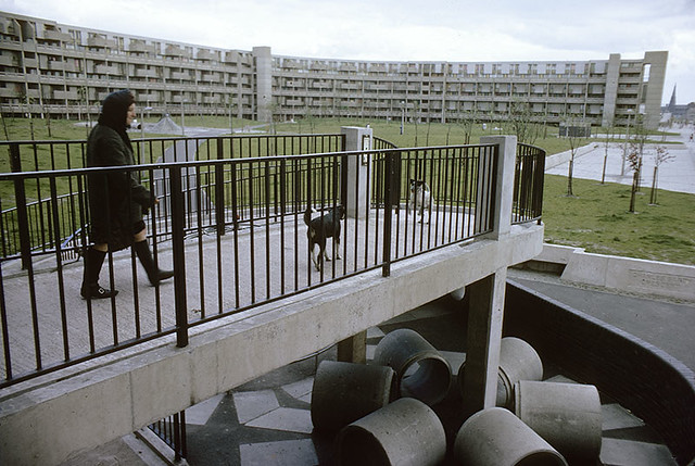 Charles Barry Crescent, Hulme, 1972