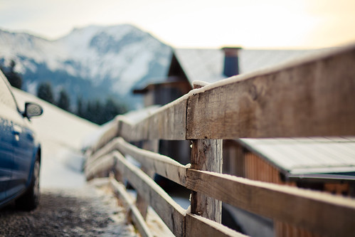 mountain fence