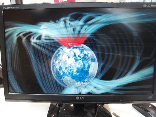 Der LG D2342P 3D-LCD-Monitor