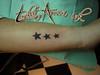 stars tattoo stars tattoo