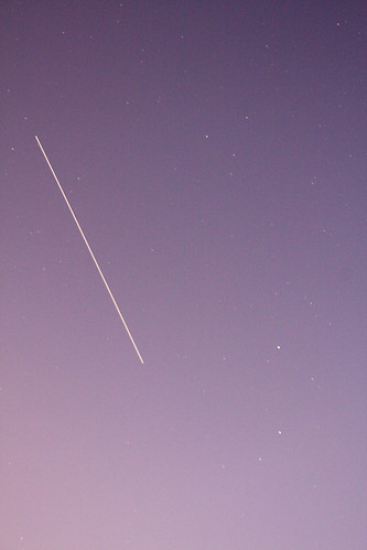 ISS fly over on 2/3/2011 at 18:49:29