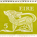Ireland postage stamp: green Gerl