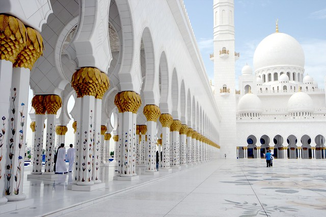 La espectacular Mezquita Sheikh Zayed en Abu Dabi 5501901092_6ec6143b45_z