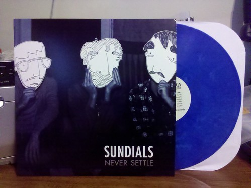 Sundials - Never Settle LP - Blue Vinyl /100