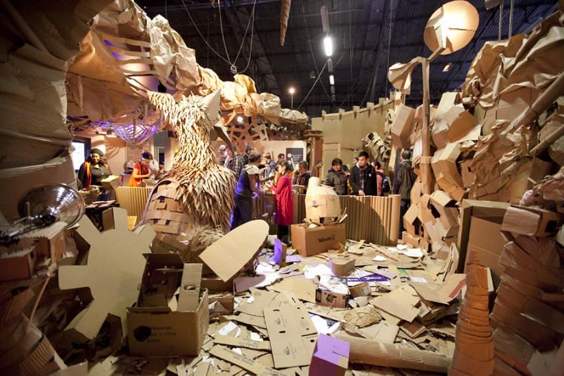 Open MAKE: Cardboard